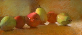 PEARS WITH PLUMS