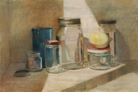 LEMON WITH JARS